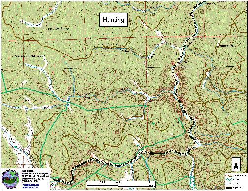 black hills land analysis recreational maps